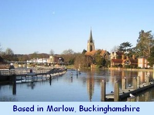 Marlow Bridge, Church and Weir